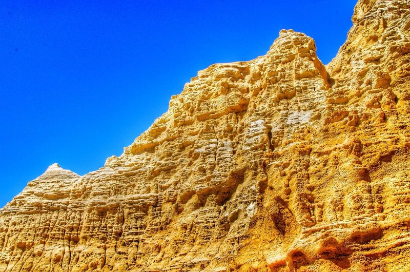Red Bluff Austrailia Abstract Summer Nature Rock Blue Sky Strength Deserts Around The World Australia Textures And Surfaces Traveling