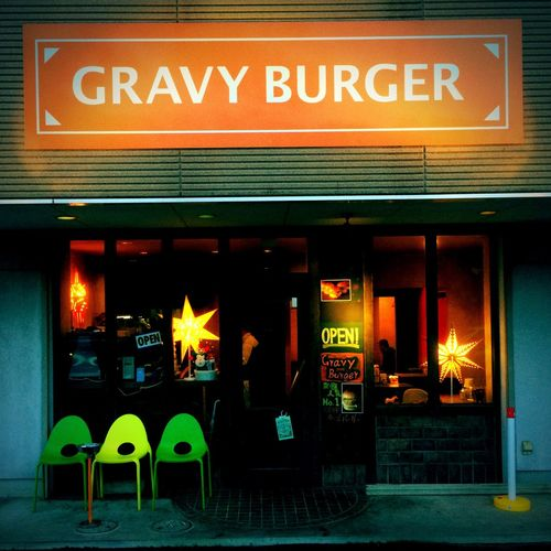 Here is my Favorite Burger Shop in Sizuka City in Japan .