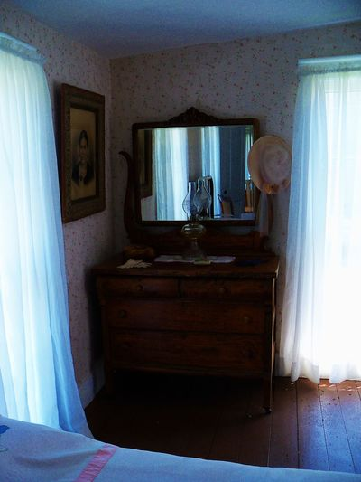 Scotland Hotel Museum in Scotland, Indiana 1800s Absence Bed Curtains Day Deterioration Domestic Room Empty Furniture Hat Interior Mirror Museum No People Oil Lamp Open Picture Reflection Run-down Scotland Hotel Museum Scotland, Indiana Wallpaper Windows Wood - Material Wood Floors The Traveler - 2018 EyeEm Awards