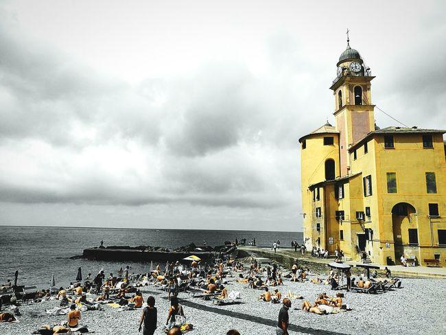 Camogli Italia Bella Italia Beach Yellow Showcase July
