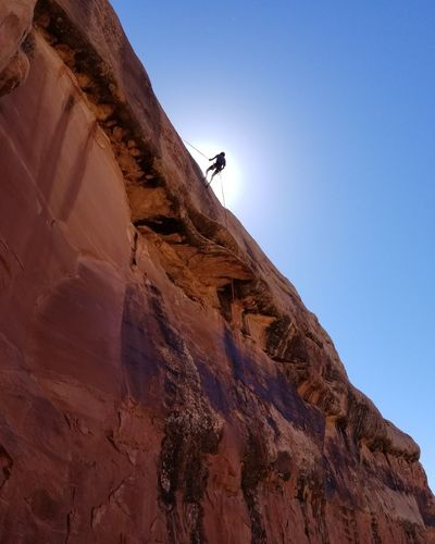 Desert Adventure Landscape Outdoors Clear Sky Extreme Sports Beauty In Nature Scenics Day Let's Go. Together.