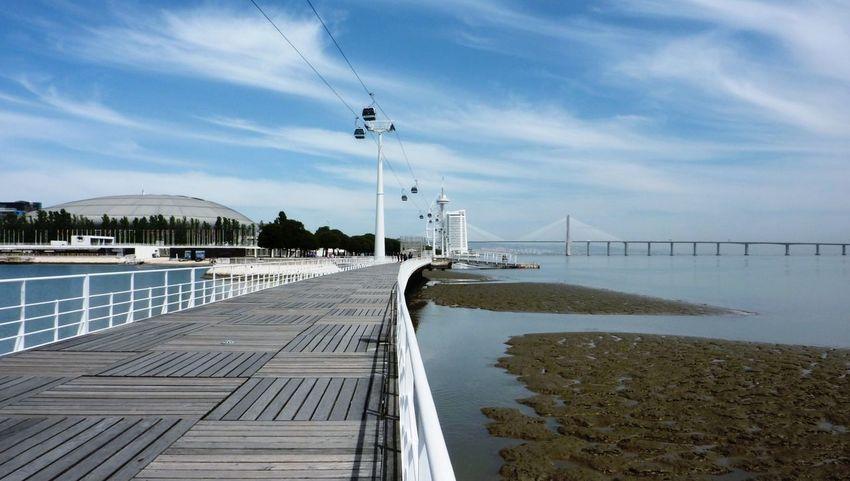 Lisbon Parque Das Nações Ponte Vasco Da Gama 1998 Landscape Architecture