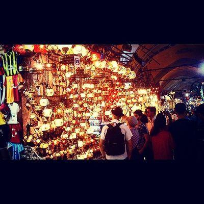 Istanbul Kapalicarsi Grandbazaar  Like like4like instamood instagramturkiye instacool instacollage tarih isik for nice golden