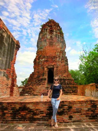 When I'm in Ayutthaya Historical Park! Reminiscing.. Architecture Old Ruin Travel One Person ThatsMe Ancient Civilization People Outdoors Only Women Walking Ayutthaya Historical Park, Bangkok Ayutthaya Thailand Ayutthaya; ThailandOnly Thailand Love Phonecamera Phone Edited Thailand🇹🇭 Thailand Trip PhonePhotography Thailandtrip FirstEyeEmPic