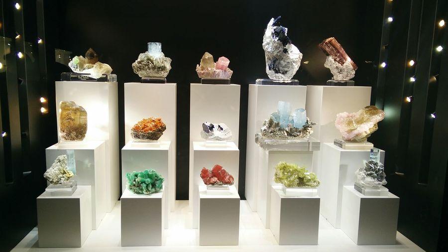 Mineral Mineral Show Crystals Color Unipolarena Casalecchio Di Reno