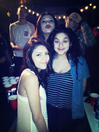 the girls #lastnight