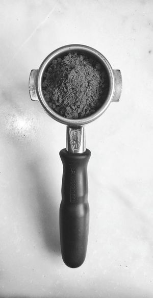 black and white portafilter. Coffee Ground Coffee Portafilter Black And White Blackandwhite EyeEm Selects Water Close-up