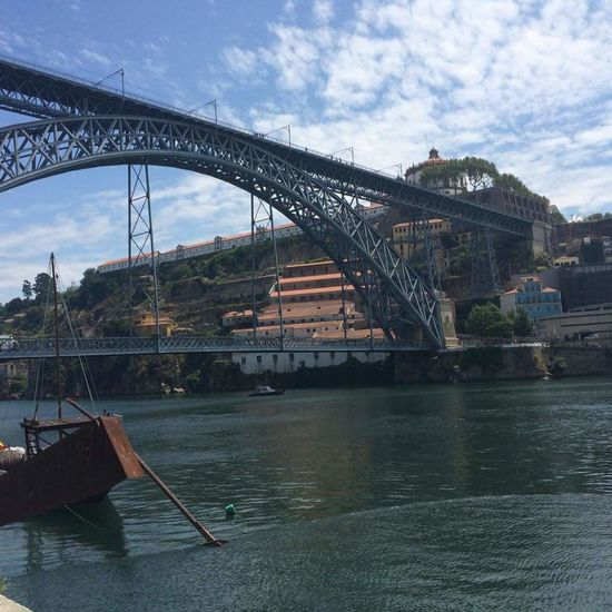 Porto _Portugal Watercurrents Bridge - Man Made Structure Tourism In Portugal Tourism