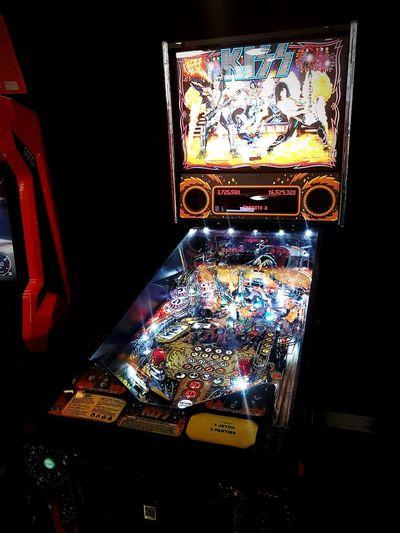 Kiss Pinball 🤘 Pinball Pinball Machine Kiss Kiss ✌ Rock N Roll All Night