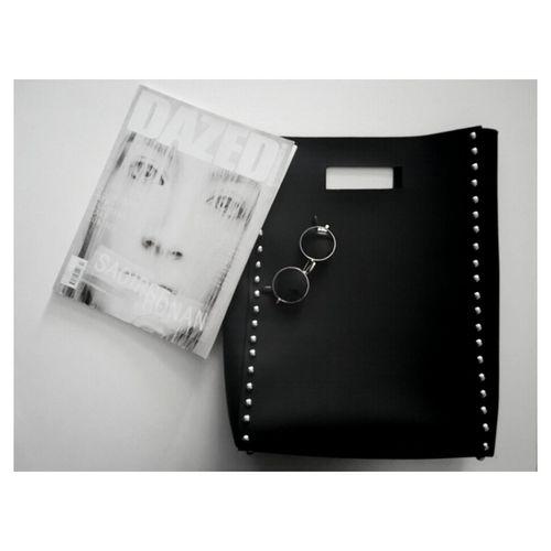 IG : stuckonstupid_shop Stuckonstupidshop Black And White Bag Shopping