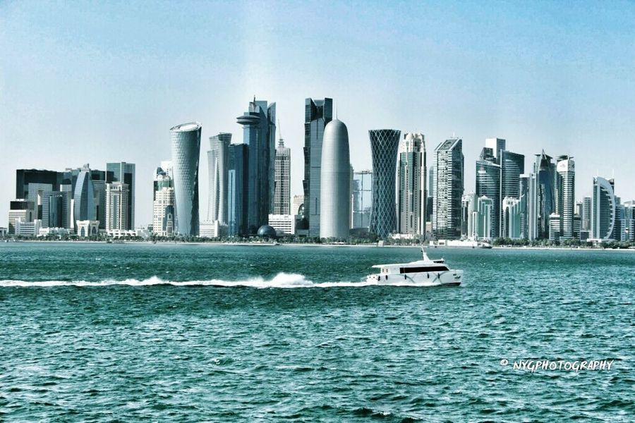 Doha Skyline Doha Corniche First Eyeem Photo