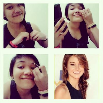 Shailene Woodley Makeuptransformation