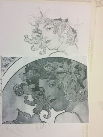 Homework for collage! Pencil Drawing People Paper Artsy ArtWork Inprogress Inprocess