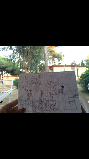 Nature Relaxing Drawing Sofab