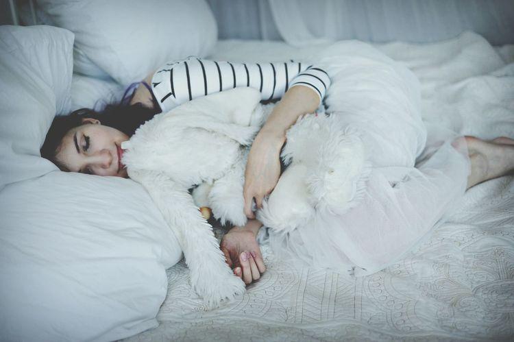 Tenderness Sleepy Girl Toys Girl In Bed