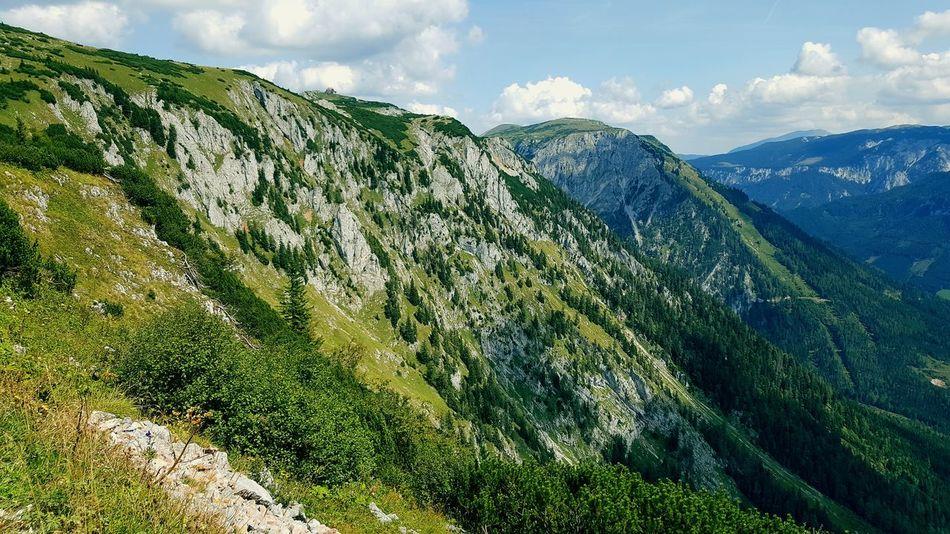 Austria's landscape of the Schneealpe Summer Hiking Hikingadventures Pure Nature EyeEm Selects Mountain Tree Cloud - Sky Grass Landscape