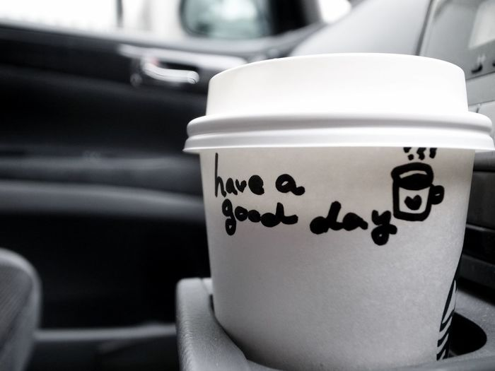 Car Starbucks