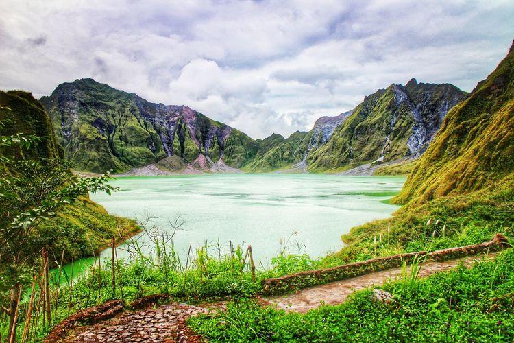 Mt. Pinatubo Volcano Volcanic  Volcano Crater Volcanic Landscape Volcanic Lake Pinatubocraterlake Pinatubo Philippines