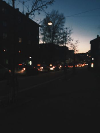 Evening Oslo Streetphotography Bokeh Feel The Journey