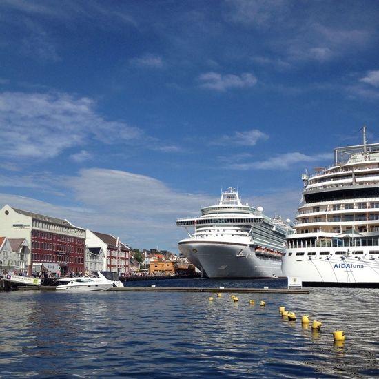 Norway Cruise Ship Sky And Sea Eye4photography