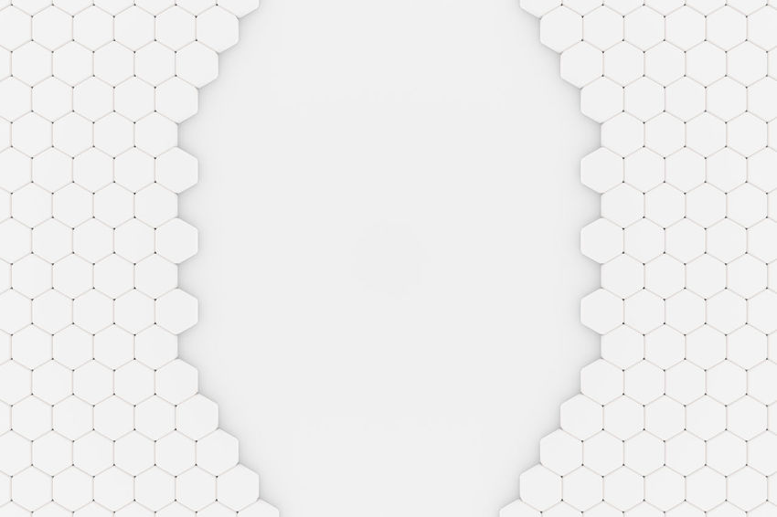 Grid Job Seekers Body Part Close-up Copy Space Different Directly Above Fit In Full Frame Geometric Shape Hexagon High Angle View Honey Honeycumb Human Body Part Human Hand Indoors  Job Match Member One Person Pattern Real People Searching Studio Shot Unrecognizable Person White Background White Color
