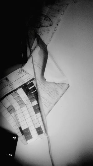 Paper View, just HangingUp some Sketching papers, Old Sketch and more things !... Bnw Black And White Blackandwhite From My Point Of View
