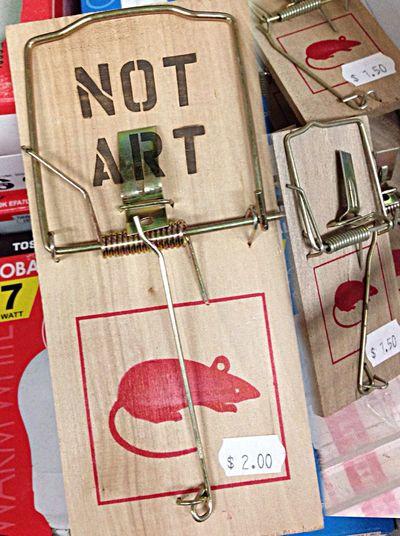 It's all a trap ... Not Art!!!