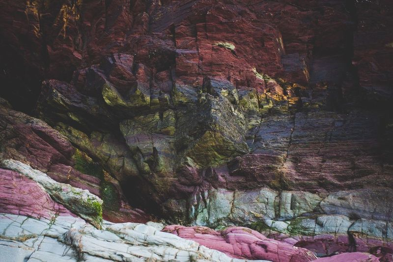 The amazing multi coloured rock formations of Rock, Cornwall, UK. Nature Rock Formation Physical Geography No People Beauty In Nature Geology Rock - Object Outdoors Tranquil Scene Tranquility Scenics Day Scenic Lookout First Eyeem Photo Cornwall Daymer Bay