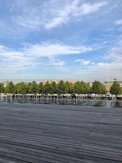 Moscow Muzeon Architecture Building Exterior Built Structure City Cloud - Sky Day Footpath Muzeonpark Nature No People Outdoors Park Park - Man Made Space Plant River Sky Tranquil Scene Tranquility Tree Water Wood - Material