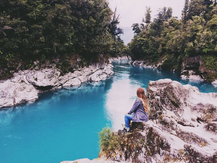 Be. Ready. Hokitika Hokitika Gorge Blue Water Looking Forward Amazing Views Of The World