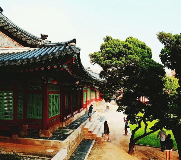덕수궁 덕수궁(DeokSuGung) 사진찍는것도모르고 주말여행 서울 Architecture Famous Place Culture First Eyeem Photo