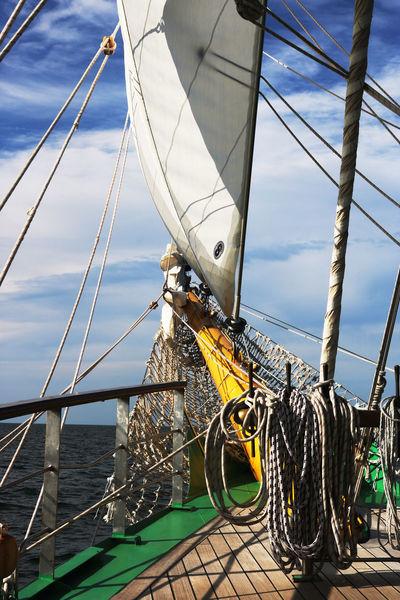 FOREMAST Tall Ships Grenn Rail Sailing Sails Sea Tall Ship Details Yellow