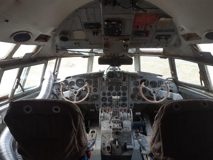 Plane Interior Plane Cockpit Aerospace Industry Air Vehicle Technology