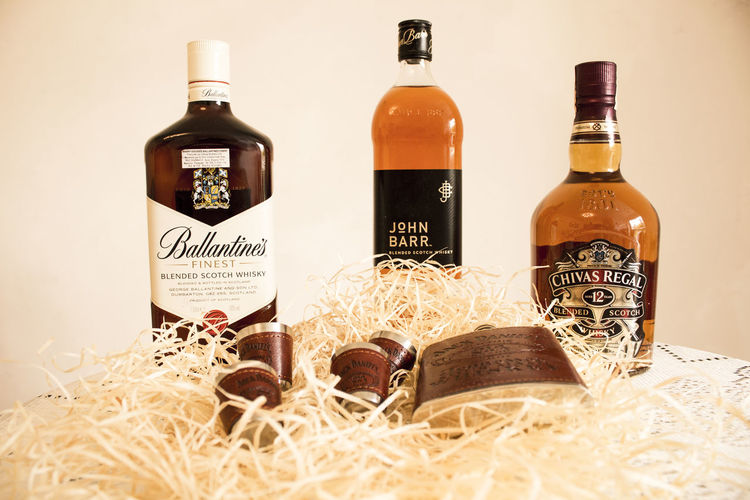 Conjunto para whisky Whiskers Whisker Whisky