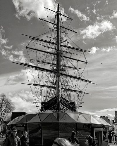 Cutty Sark, Greenwich This photo reminded me of the images from Shackleton's Endurance expedition (what a story that is!) just swap the Antarctic ice for a modern British high street - same same but different! Cuttysark Greenwich Blackandwhite Blacknwhite Igerslondon Grittyprettylondon Londonist London Clipper Londonphotographer Londonphoto Visitlondon Endurance