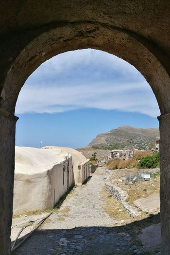 Arch Architecture History Built Structure Fort Ancient No People Day Travel Destinations Sky Outdoors Ancient City Byzantine Architecture Byzantine Empire Byzantine Church Gameofthrones Greek Village Kythera Kythira  Traditional Culture