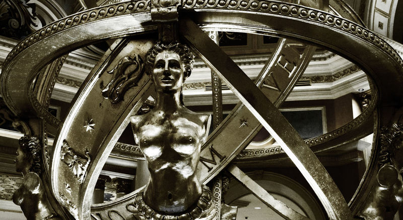 Statue at the Venetian, Las Vegas Animal Themes Art Culture And Entertainment ArtWork Black And White Carousel Circle Circles In Circles Close-up Day Lady Las Vegas Las Vegas NV Las Vegas ♥ Lifestyles Metallic No People Outdoors Reflection Sculpture Shine Shining Statue Textured  Venetian Hotel Wheel Welcome To Black Break The Mold BYOPaper! The Architect - 2017 EyeEm Awards The Week On EyeEm Been There.