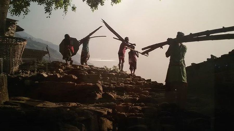 Festivaldelloriente Mostradoltremare Nepal Napoli Village Sky People