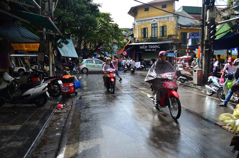 The Old Quarters in Hanoi Old Quarter Hanoi Vietnam Far East
