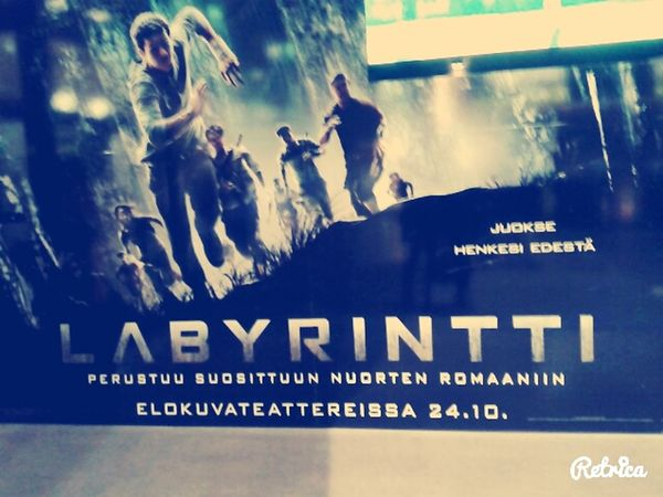 The Maze Runner Amazing Movie Labyrintti Helsinki