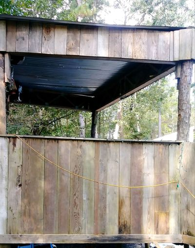 Wood - Material Architecture Built Structure No People Outdoors Building Exterior Day Tree
