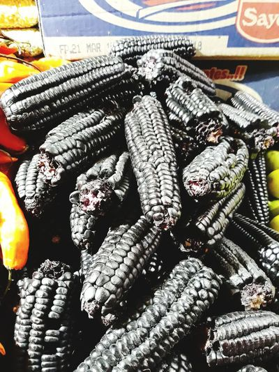 Plant Unusual Coloring Corn South American Food Close-up Textured  Detail Rugged