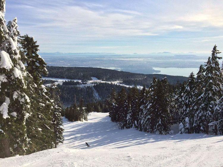 Snow ❄ Snowcapped Mountain Cold Temperature