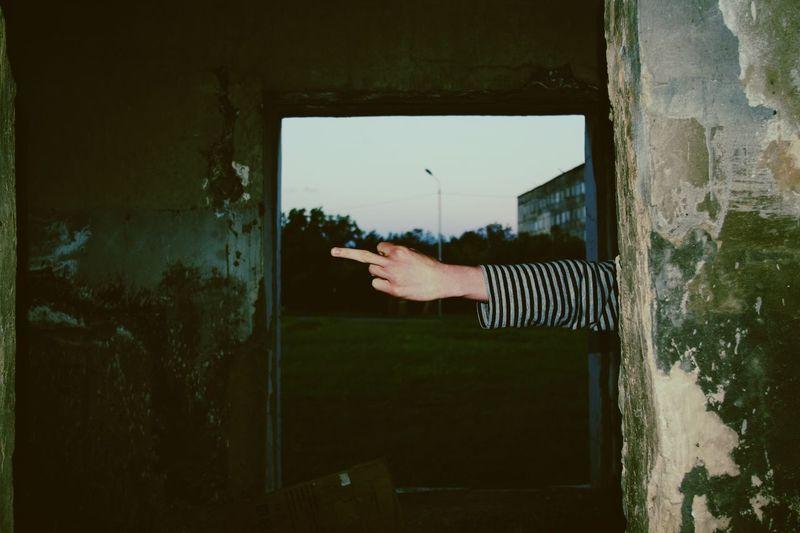 Adult Frame Men Window People Human Hand Human Body Part Polaroid Art Flash Photography EyeEm LOST IN London