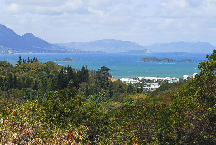 Views in Noumea, New Caledonia Beauty In Nature Day Grass Landscape Mountain Mountain Range Nature New Caledonia No People Outdoors Scenics Sea Sky Tranquility Tree Water