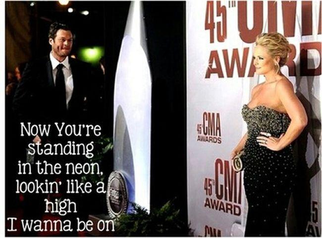 Miranda and Blake..<3 Forever Miranda Lambert Blake Shelton  Forever In Love Sure Be Cool If You Did