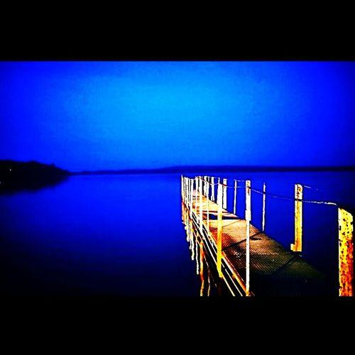 Arnavutkoy Göl Manzara Gece Night Iatanbul Iskele
