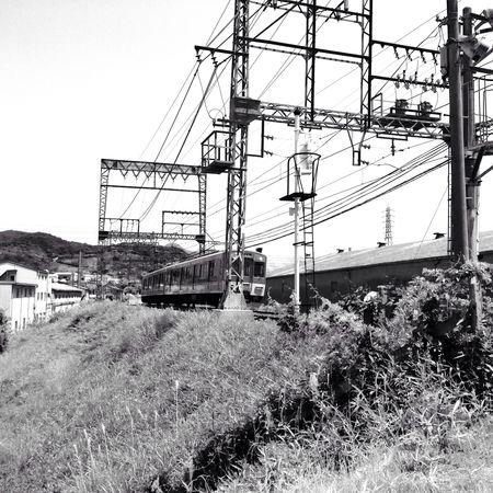 暑い… IPhoneography Train