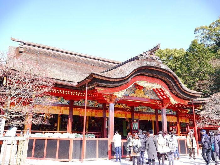 太宰府 に行ってきました。参道がとても良かったです。