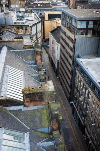 Looking down from the Lighthouse in Glasgow. Urban Urbex Glasgow  Rooftops Lookingdown Eyeem Scotland  Scotland EyeEm Best Shots Fuji X100s Cityscapes